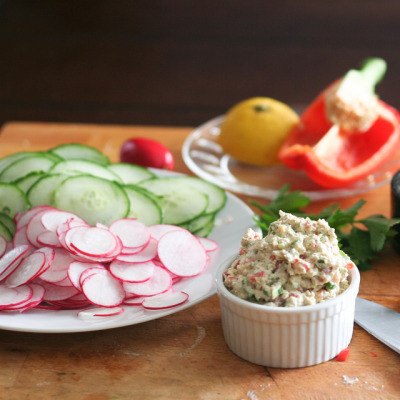 Tofu Spread and Cucumber Radish Wrap-3 by Sonia! The Healthy Foodie on Flickr.