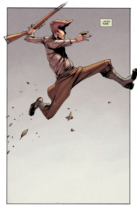 what-thecomicbookpanels:  Peter Panzerfaust #1