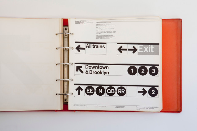 laughingsquid:  New York City Transit Authority Graphics Standards Manual (1970)  Further to this post from the other day, it now seems that the entire New York Subway Graphics Standards Manual is now online here. Read and enjoy!