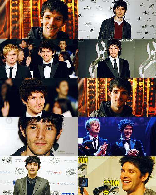 yourealivexo:   colin morgan + public appearances