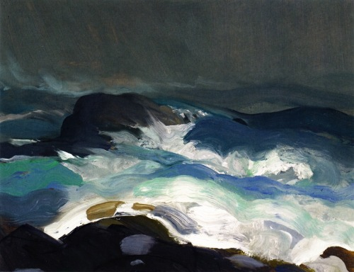 bofransson:  Sea in Fog George Wesley Bellows - 1913
