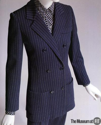 omgthatdress:  Suit Yves Saint Laurent, 1967 The Museum at FIT