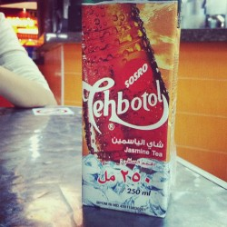 Interesting #tea in a #bottle at least that's the translation I think #tehbotol #indonesia