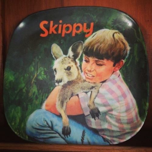Scott's Skippy plate.