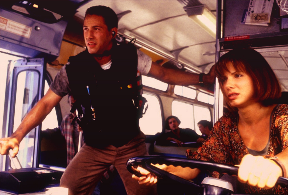 Speed (1994) ****1/2 How have I not seen this before? Keanu Reeves, a speeding bus? This is the perfect action movie. My parents failed me.