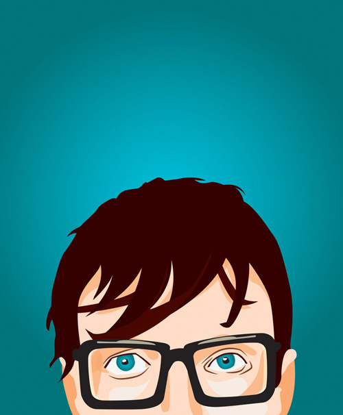 Illustrated portrait of Jarvis Cocker, more pop portraits on bentheillustrator.com!