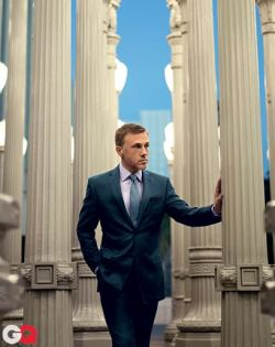 gq:  Let's just give Christoph Waltz all of the Oscars.