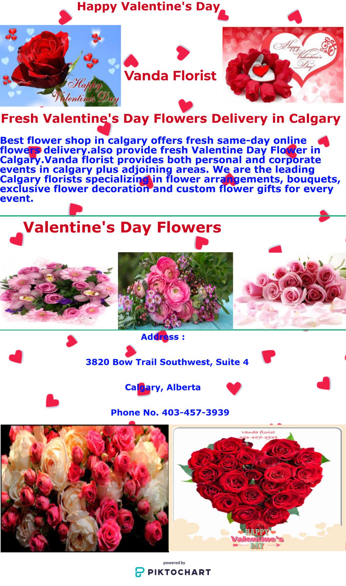 Vanda florist local calgary flower shop best flower shop in best flower shop in calgary offers fresh same day online flowers deliveryso provide izmirmasajfo