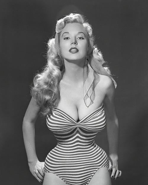 girlsgotafacelikemurder:  Highest paid pin up in the 1950s in the U.S.
