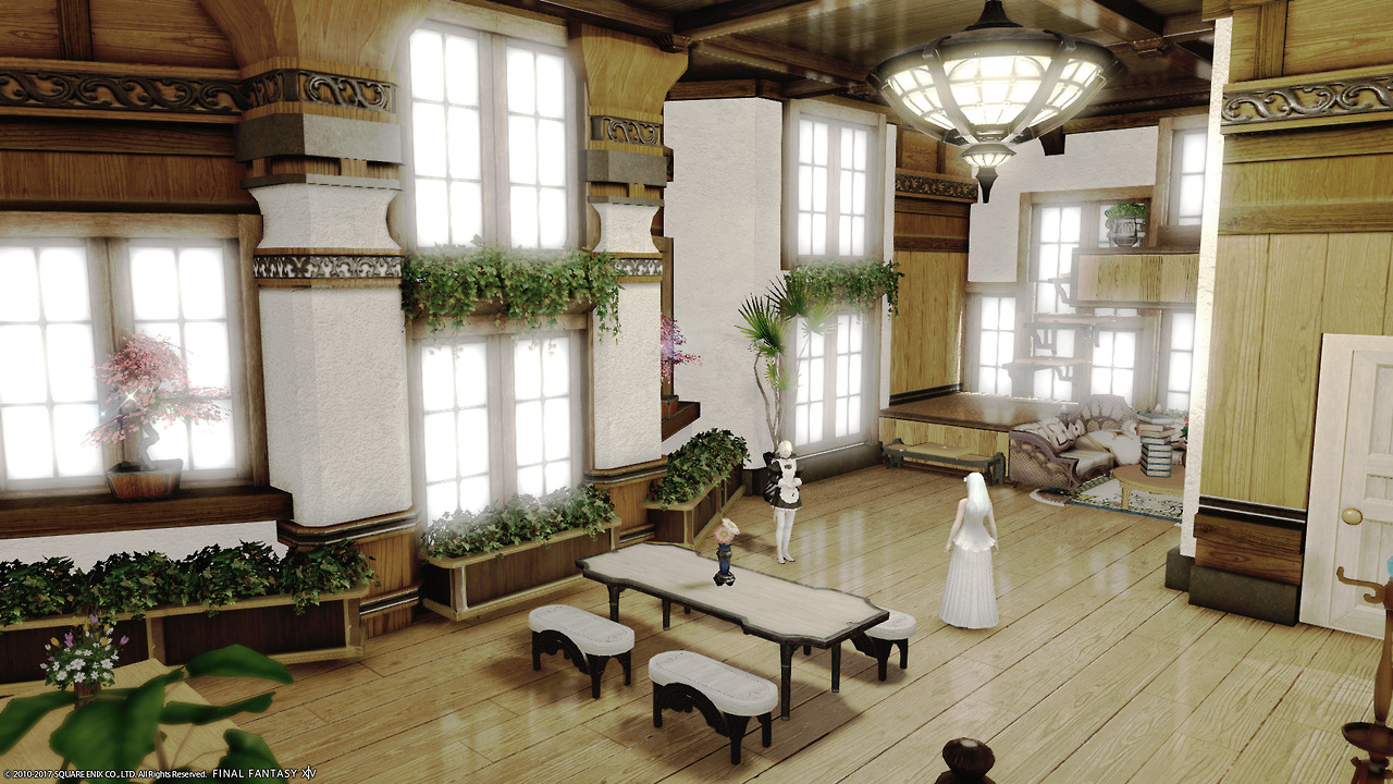 Alice's House Designs In Final Fantasy XIV