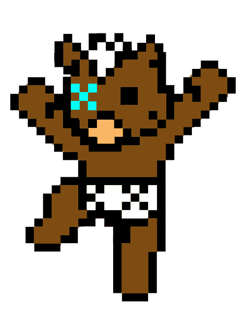 fakesavian:  the 8bit Bear