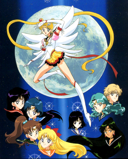 From the Sailor Stars musical guide book. Scan from shiningmoon.