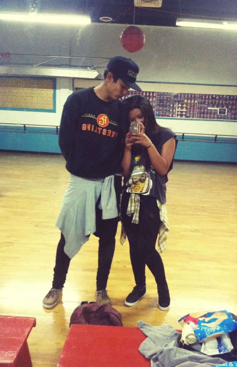 I never thought I'd find myself a dancer boyfriend. Haha