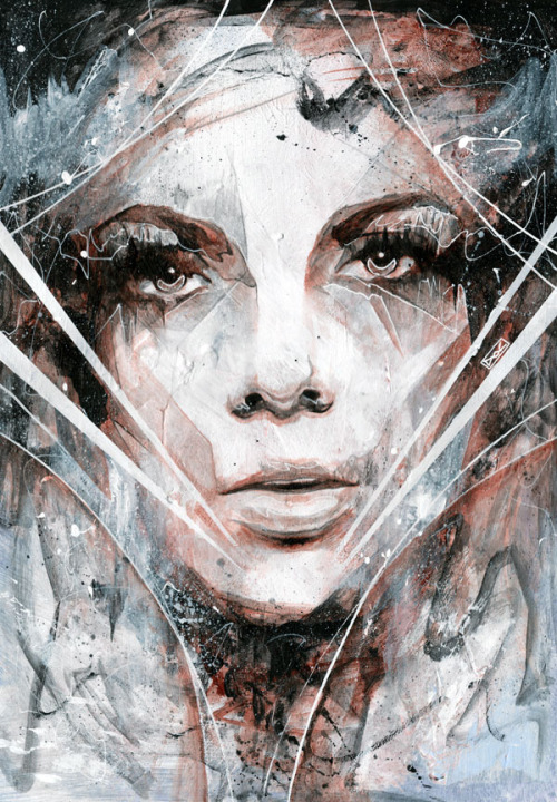 artforadults:  collision course by Danny O'Connor