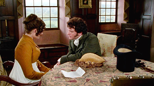 "kittyinva:  Pride and Prejudice      ""Good God, what is the matter?"""