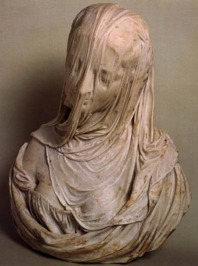 atavus:  Antonio Corradini - Bust of a Veiled Woman (Puritas), 1717-25
