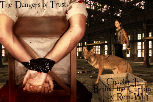 remawolf:  Cover Art for The Dangers of Trust - Chapter 1  GO GO GO! If you haven't read this wonderful Sterek/Teen Wolf AU then you are seriously missing out! <3
