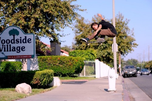 virtualnotebook:  Levi Brown – Backside Flip. Photo by Andrew Mapstone