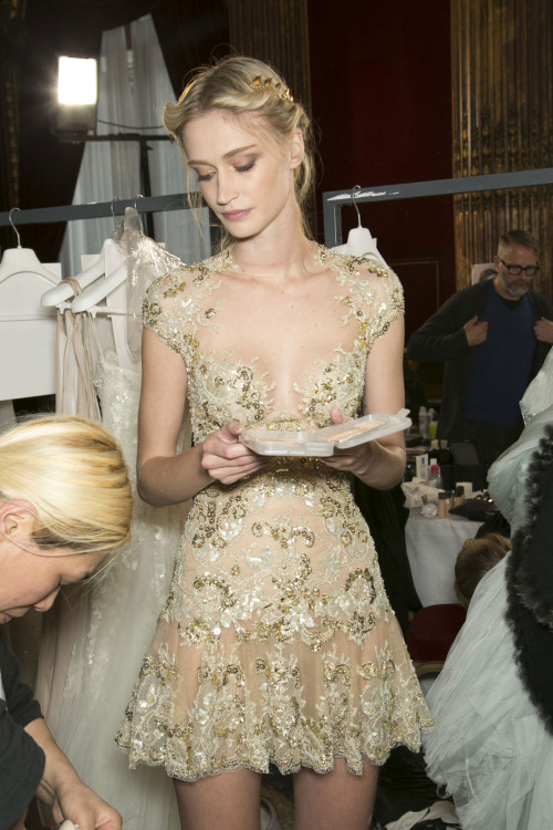 beck-louise:  girlannachronism:  Zuhair Murad spring 2013 couture backstage  ❤