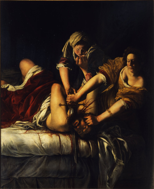 Artemisia Gentileschi - Giuditta decapita Oloferne (Judith and Holofernes) When in Florence next time, be sure not to miss this one