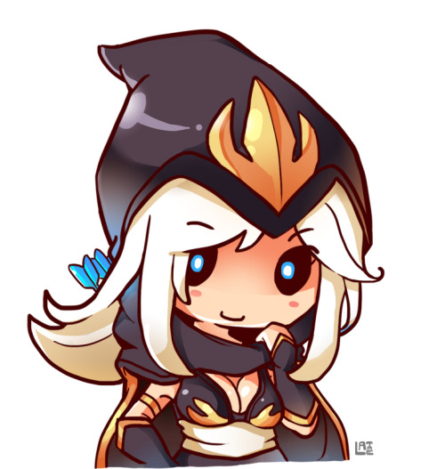 arrowfromthefrost:  Ashe little Cute by ~LataeDelan