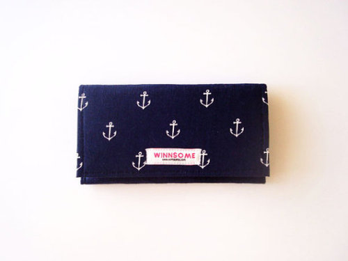 anchor print, madras… need I say more? perfect for iPhones! the new mini winnsome