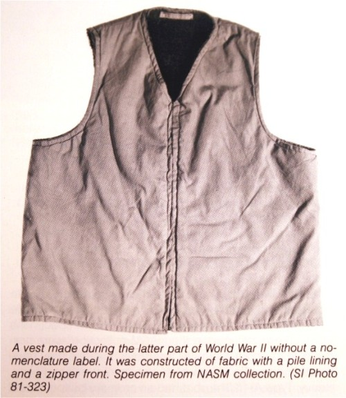 WWII Cold Weather Vest
