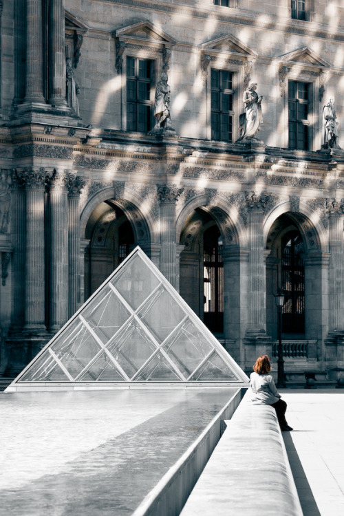 Ice by Fran-cesca The Louvre, Paris, France // ac-z:hellanne