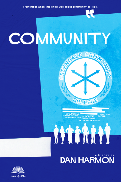 Community, Saul Bass style.(bigger version)