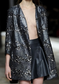 Theyskens Theory Fall 2013 Runway Details