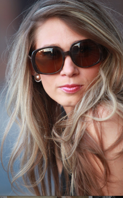 Trina Turk sunglasses shot