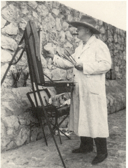 Theodore Roosevelt painting. He created over 600 painting throughout his life time.