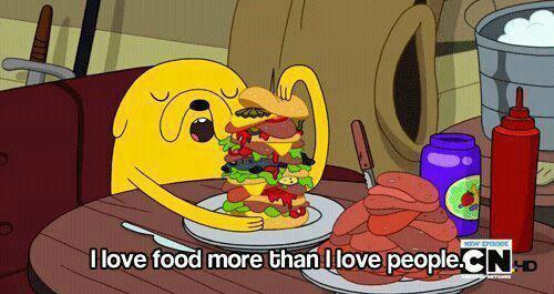 i-wanna-be-foreveer-y0ung:  Food Before People | via Facebook on @weheartit.com - http://whrt.it/16NYByQ