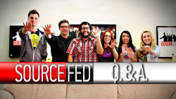 sourcefed:  SourceFed Q & A Click Image for the Story: http://dft.ba/-3PVF  Lee's Mad Hatter is EPIC!!