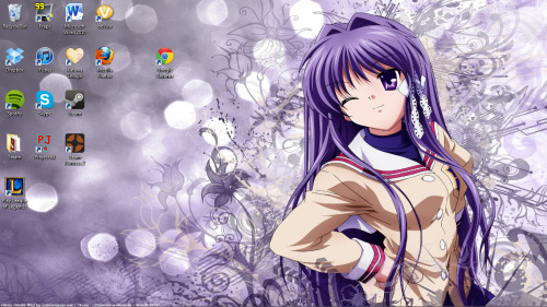 xdanielwang:  30 Day Anime Challenge - Day 14 Current Anime Wallpaper c: