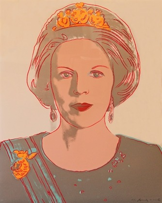 Dankjewel! Andy Warhol, Queen Beatrix of the Netherlands (from Reigning Queens Royal Edition), 1985