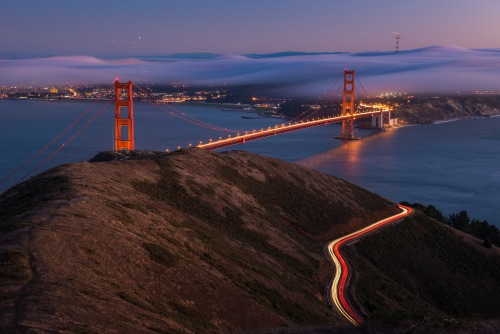 Not all of our public lands are far from urban areas. The Golden Gate National Recreation Area chronicles two hundred years of history, from Native American culture, the Spanish Empire frontier and the Mexican Republic, to maritime history, and the California Gold Rush. It also provides some pretty killer views of the Golden Gate Bridge and San Francisco. Photo: Justin Kern