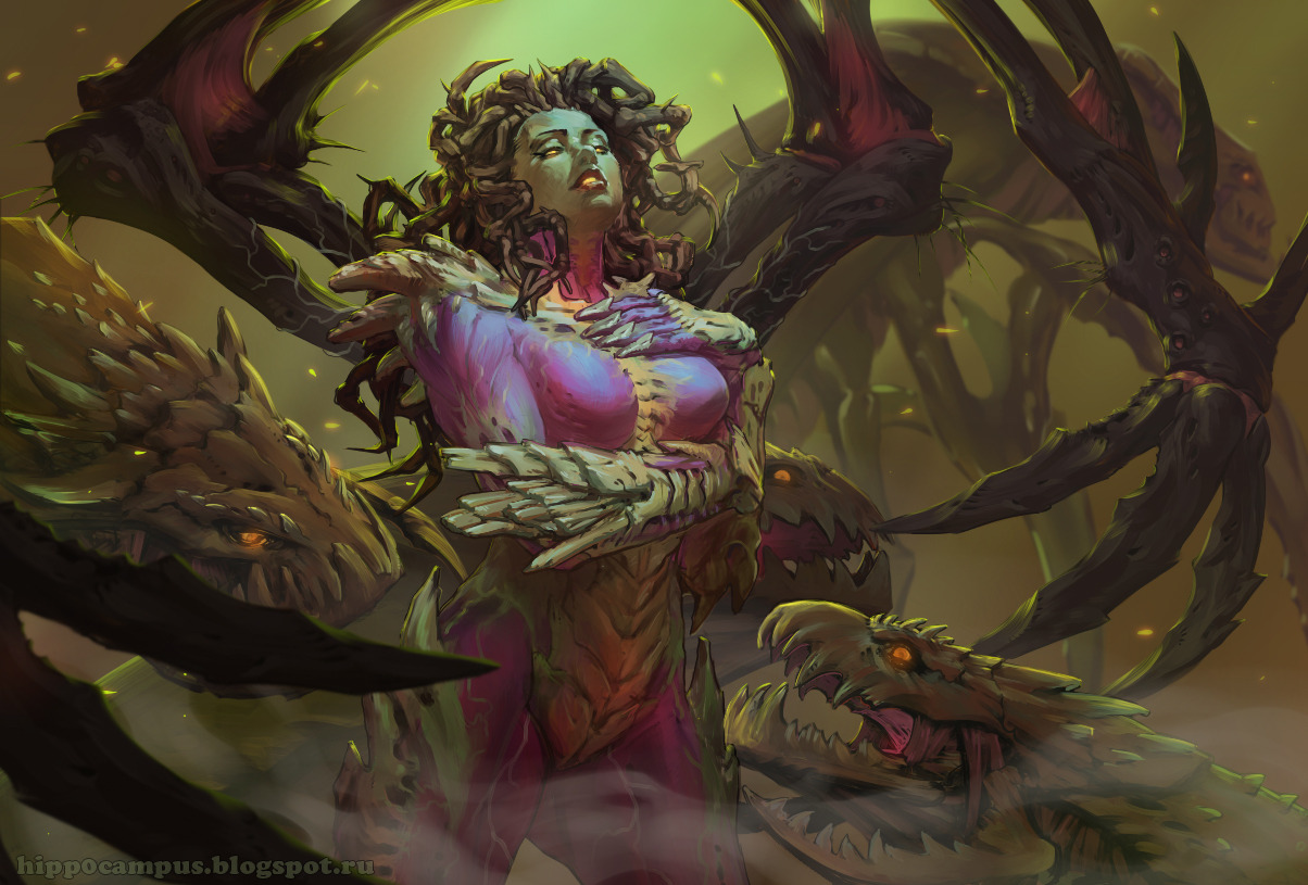 vacationofcolors:  Kerrigan by ~Alexey-Konev