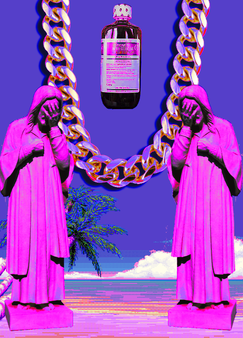choppa-gunna:  where my codeine kings at?