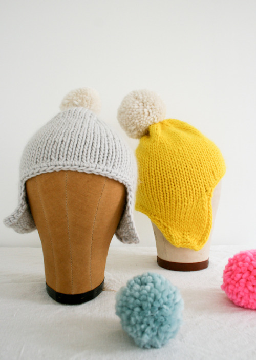 Cozy Warm Hat - the purl bee