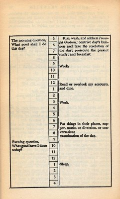 'What Good Shall I Do This Day?' Asked Benjamin Franklin Every Single Morning