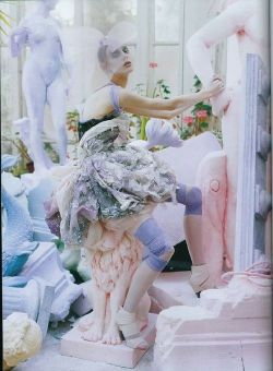 the-front-row:  A Magic World'  by Tim Walker in Vogue Italia January 2008