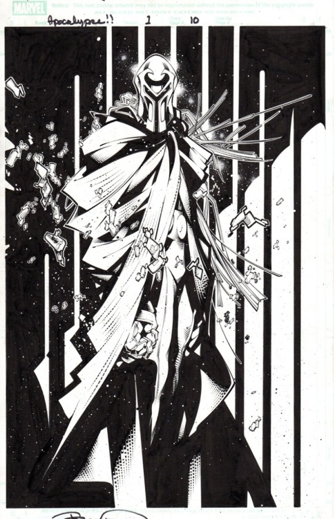 Age of Apocalypse Magneto by Chris Bachalo