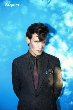 beautiful-creatures-in-movie:  Matt Smith by Tom van Schelven for Esqire ,2012