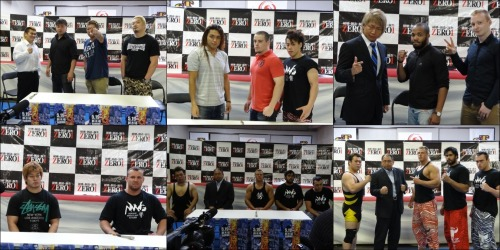 "[ZERO1 News] ZERO1 recently held a press conference to announce heir full card for their next upcoming show on May 19th at the Shinkiba 1stRING. The ZERO1 vs. NWF feud will be continuing strong with the 3 matches, 4 if you include ZERO64, with the NWF looking to maintain their win streak heading out of the Korakuen Hall show on May 4th.James Raideen will be leading the group in the main event bout as he teams with Tama Williams and Mark Coffey to take on Shinjiro Otani, Masato Tanaka and Shito Ueda. NWF will definitely have a hard task in front of them with the ZERO1 leaders in Otani and Tanaka, but a win would certainly give them more power than ever.Raideen also expressed that he and Maybach β want to challenge for the Intercontinental Tag belts which are currently held by Akebono and Daisuke Sekimoto.Otani also announced that the 2013 edition of the Fire Festival will be taking place from July 17th to August 4th. The opening show on July 17th will also be held in the honor of Naohiro Hoshikawa, who would be celebrating his 20th Anniversary as a pro wrestler. Hoshikawa career was cut short in late 200r as he suffered a career ending injury while in competition.This show will also see the dream teaming of Ikuto Hidaka and Fujita ""Jr"" Hayato as they take on, the current double junior champion, Jonathan Gresham and Jack Anthony. Gresham currently has no challenger for his newly won belts, but this match could potentially set up his first challenger.Below is the announced card for the show.Pro Wrestling ZERO1, 5/19/2013 [Sun] 12:00 @ Shinkiba 1st RING(-) Kohei Sato, KAMIKAZE & Ryoji Sai vs. Yoshikazu Yokoyama, Toru Sugiura & Naoshi Sano(-) ZERO64 vs NWF Tag Match: Takuya Sugawara & Mineo Fujita vs. Craig Classic & Jason New(-) ZERO1 vs NWF Tag Match: Ikuto Hidaka & Fujita ""Jr"" Hayato vs. Jonathan Gresham & Jack Anthony(-) ZERO1 vs NWF Single Match: Yusaku Obata vs. Maybach β(-) ZERO1 vs NWF 6 Man Tag Match: Shinjiro Otani, Masato Tanaka & Shito Ueda vs. James Raideen, Tama Williams & Mark Coffey"