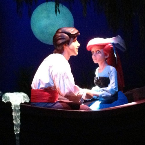 The animatronics on the voyage of the little mermaid are incredible!!!!