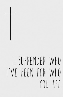 spiritualinspiration:  Precious Lord, today I surrender my questions, I surrender my past, I surrender my need to have all the answers and choose to trust that You have all the answers. I will wait on Your timing to reveal Your ways to me and choose to press forward into the destiny You have prepared for me in Jesus' name. Amen.