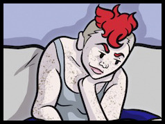 New comic!! We start a new story arc this week, starting with that awesome moment when you score tickets to a hockey game.