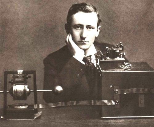 Guglielmo Marconi: Italian inventor who is known as the father of long distance radio transmission. He is often credited as the inventor of radio. He and Karl Ferdinand Braun received the 1909 Nobel Prize in physics. Smart and gorgeous.