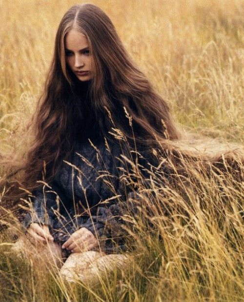jeou:  solitary refinement, ruslana korshunova for W magazine, november 2004